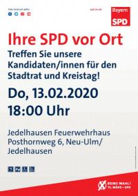 Kandidatenvorstellung Jedelhausen
