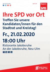 Kandidatenvorstellung Jakobsruhe Neu-Ulm
