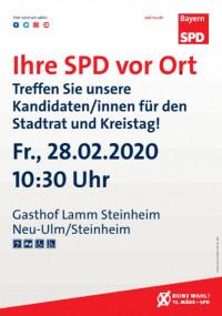 Kandidatenvorstellung Lamm Steinheim